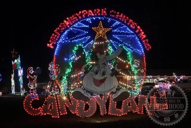 Hersheypark Christmas Candylane Sweet Light Display