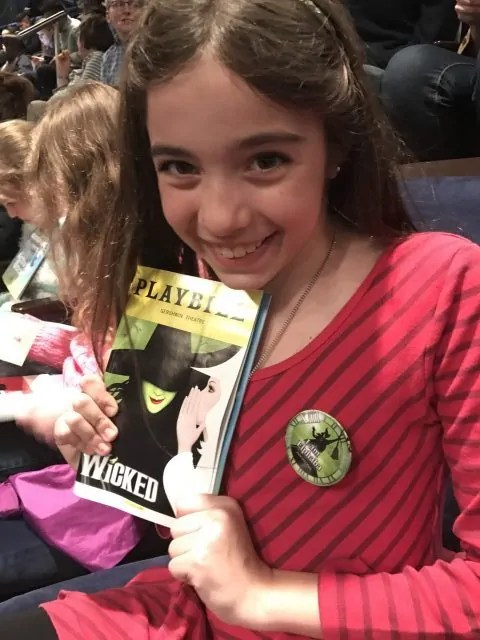 Bella's First Broadway Musical - wicked!