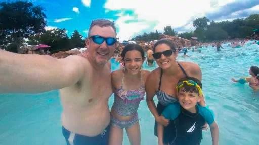 Family Photo at Disney's Blizzard Beach