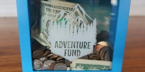 adventure fund savings box