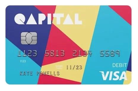 qapital debit card