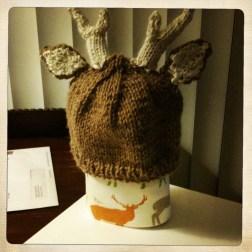 Deer Hat and Blanket