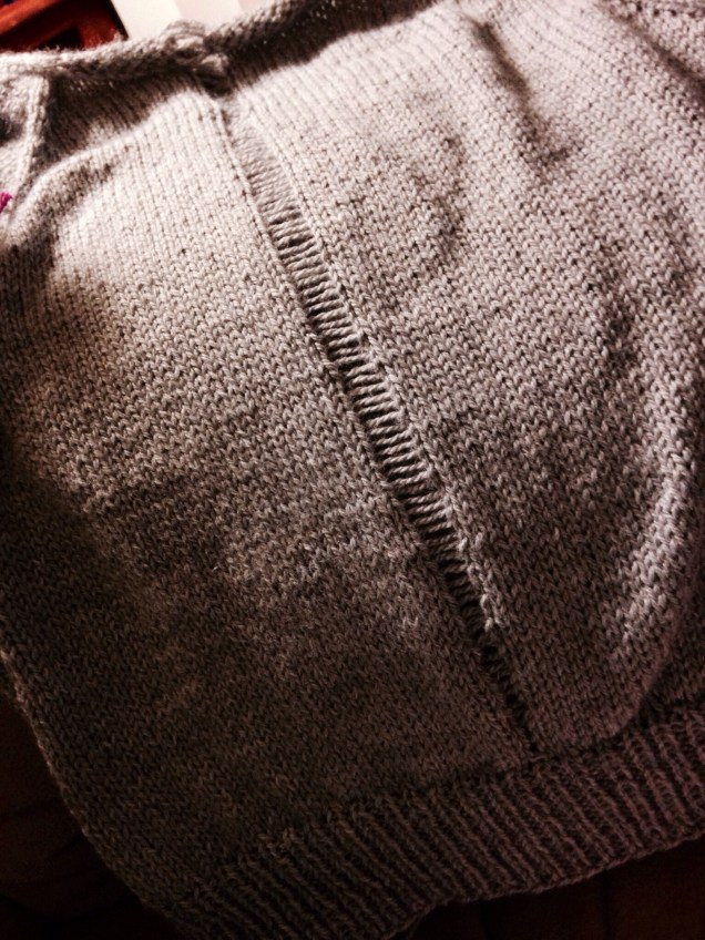 Dropped stitches are scary - except for this sweater