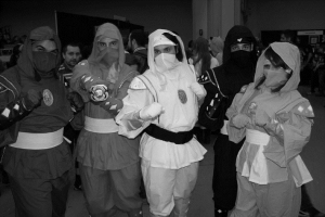 Please note, these are not real Ninjas.