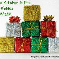 3 Kitchen Gifts Your Kiddos Can Make