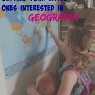 Getting Your Little Ones Interested in Geography