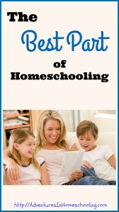 The Best Part of Homeschooling
