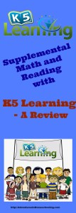 Supplemental Math and Reading with K5 Learning – A Review