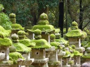 Japanese Zen Stone Lanterns