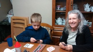 Cribbage with Grandma