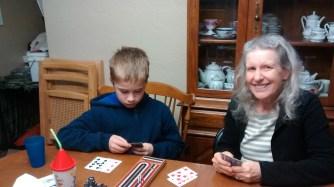 Cribbage with Grandma