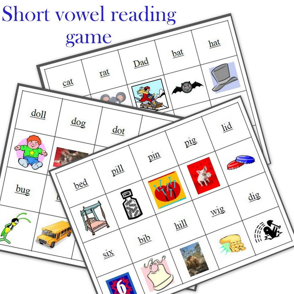 My Phonics Reading Game