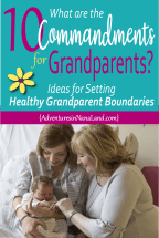 Three generations - mom, baby and grandma
