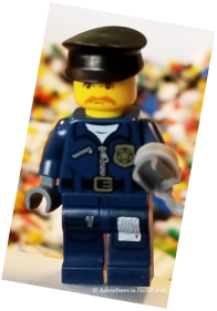 LEGO minifigure policeman - Legos for cheap - Adventures in NanaLand