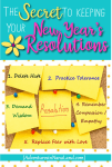 The secret to keeping your new year's resolutions - Adventures in NanaLand