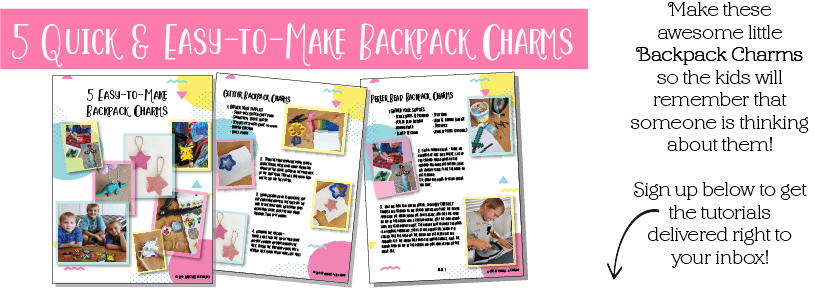5 Easy-to-make Backpack Charms - Adventures in NanaLand