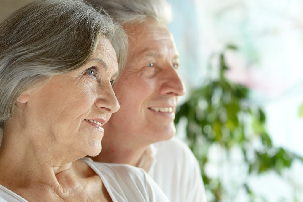 Profile of older couple - Grandparents Day activities - Adventures in NanaLand