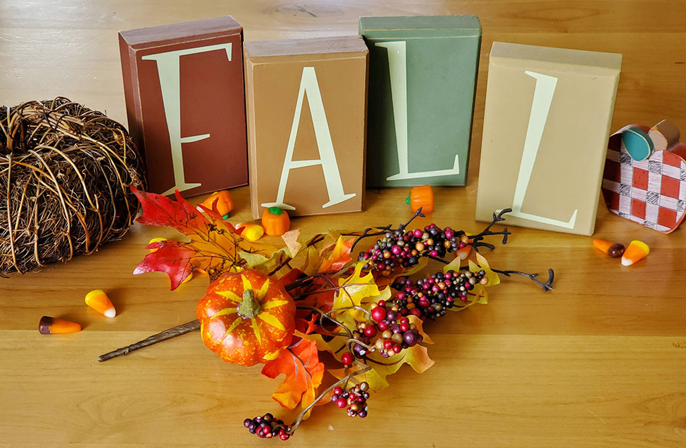 Fall decor - Fall Fun and Games for Grandkids -Adventures in NanaLand