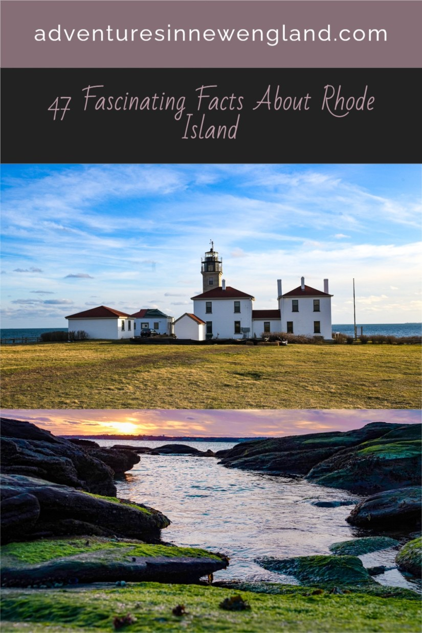 Read on for fun and fabulous facts about the smallest US state, Rhode Island. #UStravel #RhodeIsland