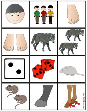 Irregular Plural Noun Cards *Freebie*