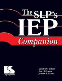 The SLP's IEP Companion