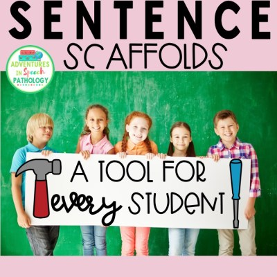 Sentence Scaffolds: A tool for EVERY student