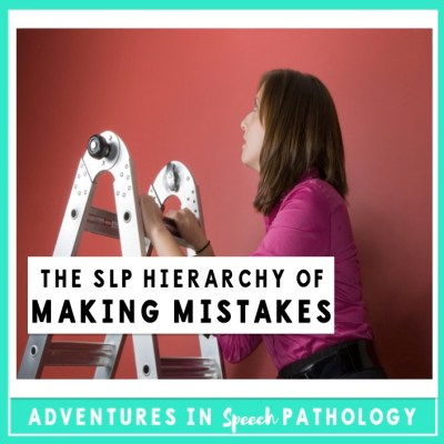 The SLP Hierarchy of Making Mistakes