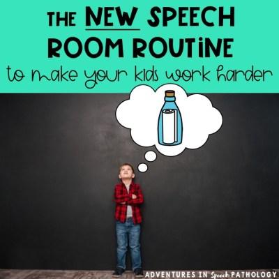 New Speech Routine