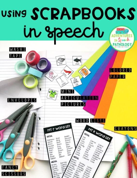 Using Scrapbooks in Speech