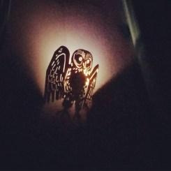 Movie theater owl