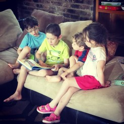 Oldest reading to the littles