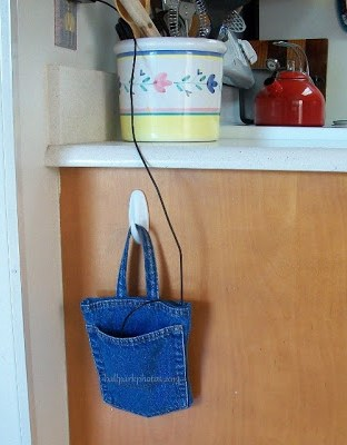 DIY phone charger pouch