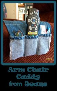 arm chair caddy pin