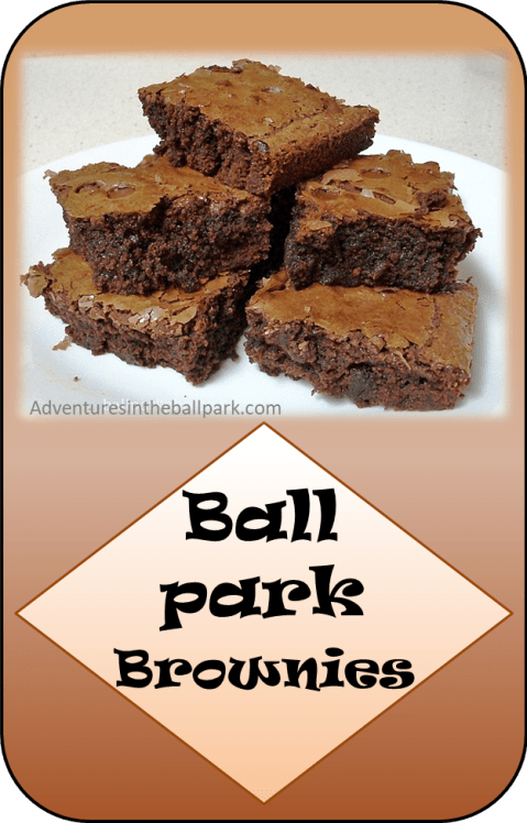ballpark brownies pin