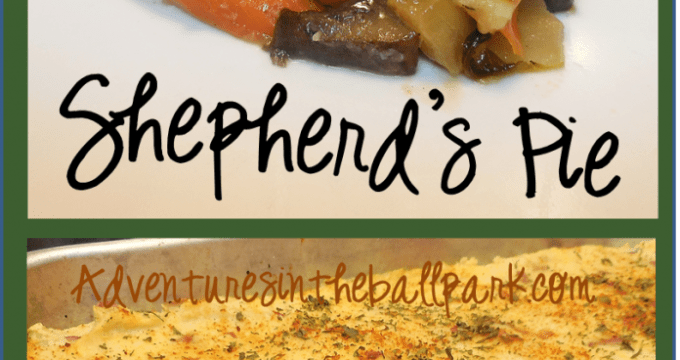 shepherds pie pin