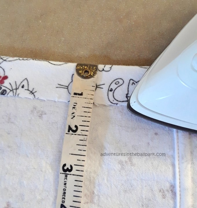 1 inch cuff fold