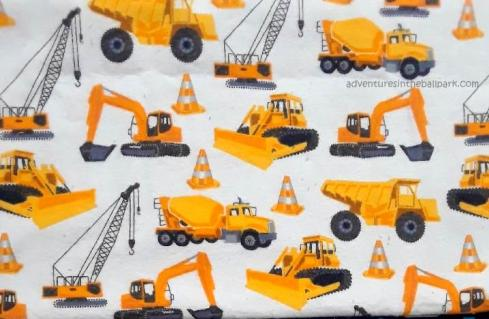 bulldozer fabric