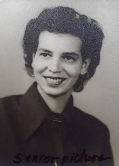 Mom's college graduation photo