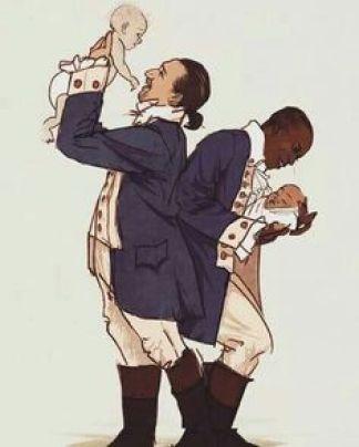 Fathers Hamilton and Burr