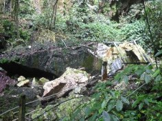The Deer Cave was closed for a while after the path got destroyed during a storm when a large slab of the cliff broke off/