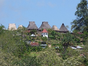 This village used to be visited by tourists, then a fire destroyed loads of the old houses and they were rebuilt without the necessary sacrifice.