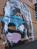 Lots more murals/graffiti here