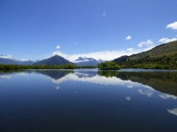 Ah the views on a still lake!