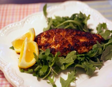 Lemon Panko Chicken