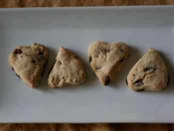 Cooking With Kids:  Chocolate Chip Scones