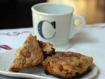 Cinnamon Butterscotch Scones