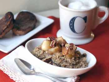 Roasted Cinnamon Apple Oatmeal Because Meals Matter