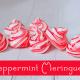 peppermint-meringues