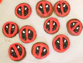 Deadpool Cookies: Celebrate Life's Moments