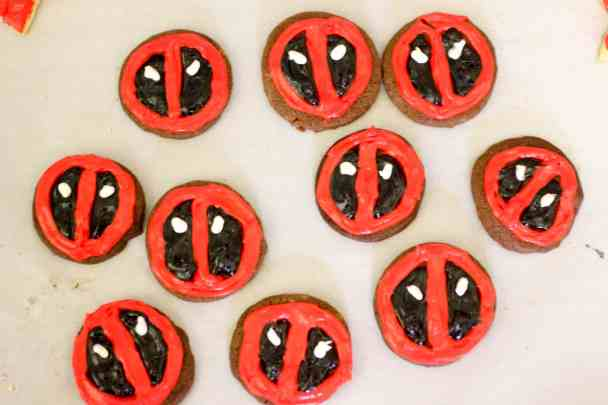 Deadpool Cookies 8